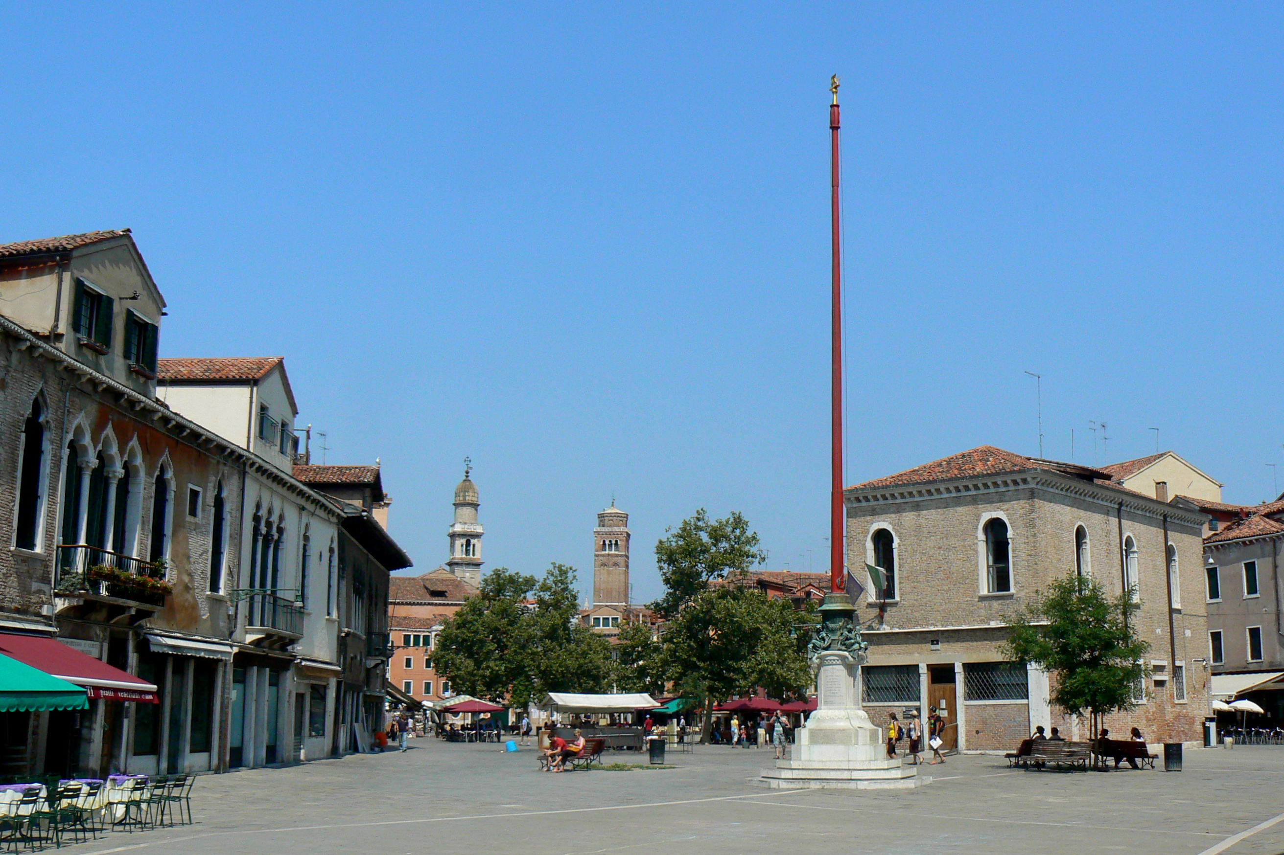 Campo Santa Margherita Venice Tourism