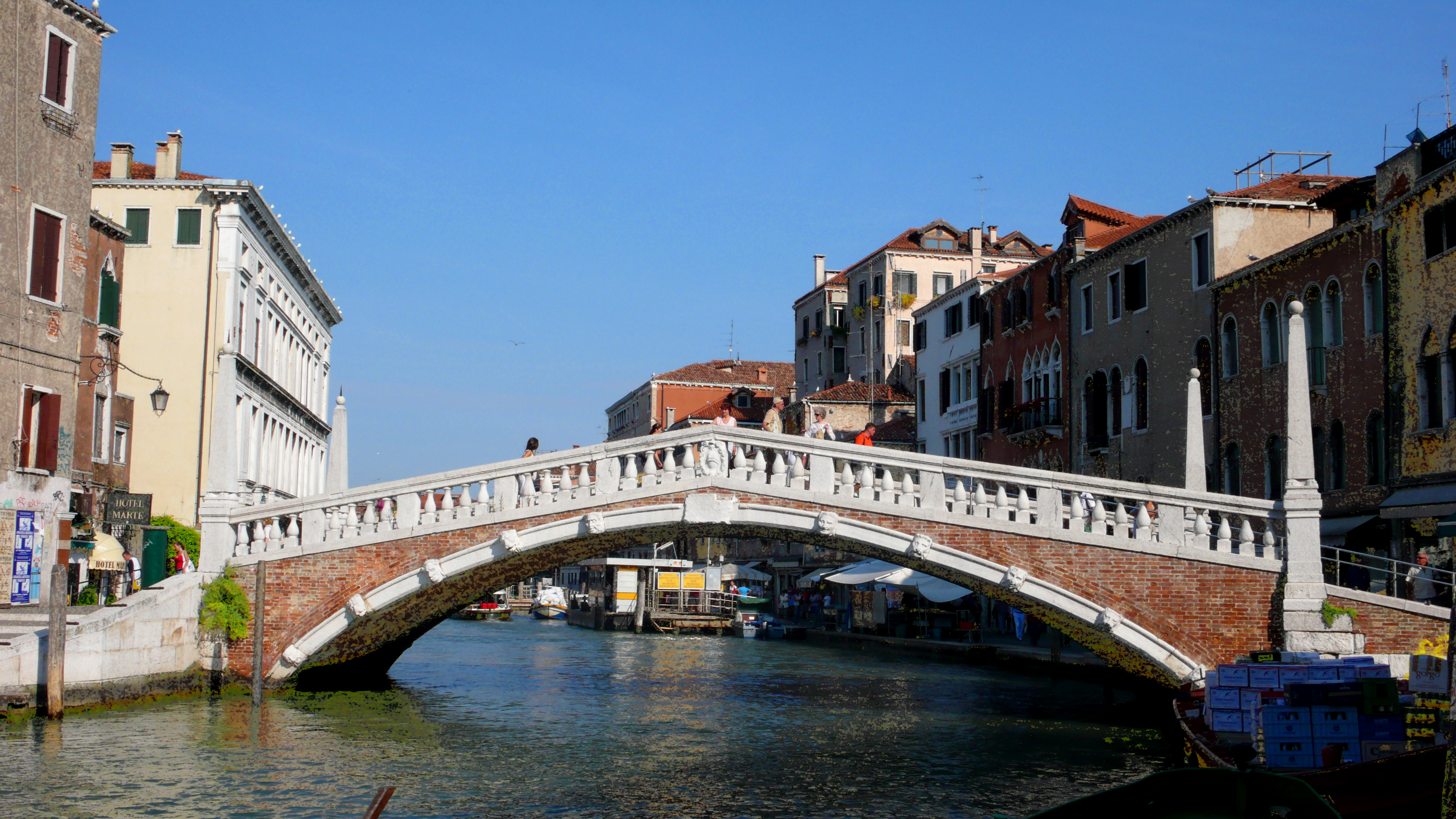 Ponte delle guglie venice tourism for Gradini del ponte curvi