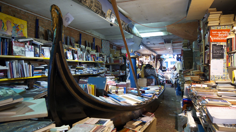 Acqua Alta Library - Venice tourism