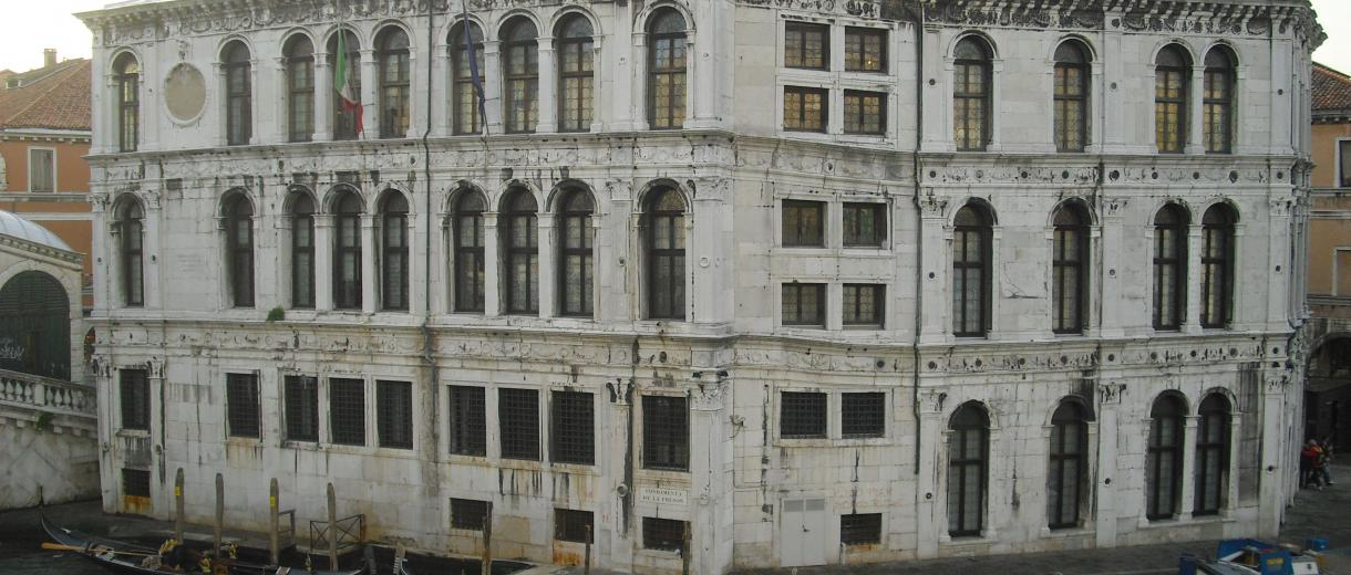 Camerlenghi Palace on Canal Grande - Venice
