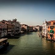 View on the Grand Canal from the Accademia Bridge - Venice