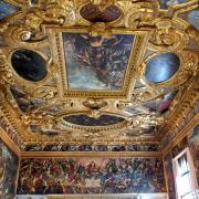 Details of Doge's Palace - Saint Mark's Square - Venice