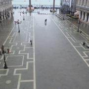 High tide in Saint Mark's Square - Venice