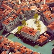 Panoramic view of Venice Ghetto