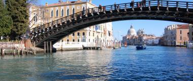 Ponte dell'Accademia sul Canal Grande - Venezia